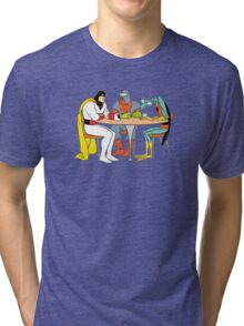 Space Ghost Coast to Coast Tri-blend T-Shirt