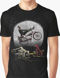 Pee Wee Phone Home Graphic T-Shirt