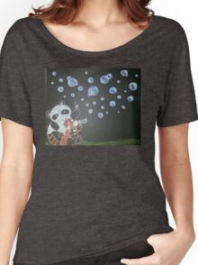 The World is your Bubble !  Women's Relaxed Fit T-Shirt