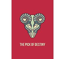 The pick of destiny Photographic Print