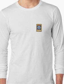 Yu Gi Oh Blue Eyes White Dragon Long Sleeve T-Shirt