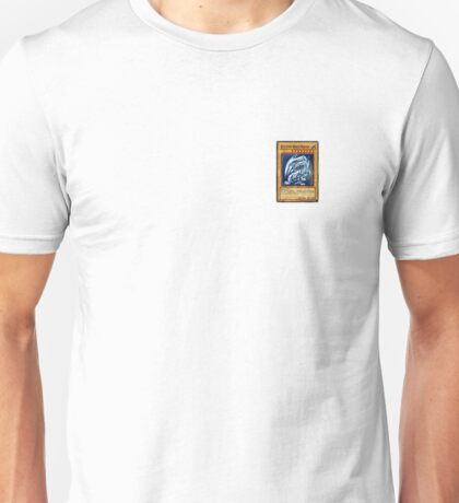 Yu Gi Oh Blue Eyes White Dragon Unisex T-Shirt