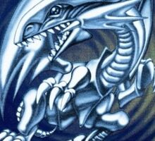 Yu Gi Oh Blue Eyes White Dragon Sticker