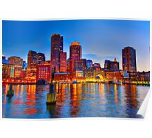 Boston Harbor Poster