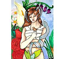Fawn Fairy Forest Nymph Photographic Print