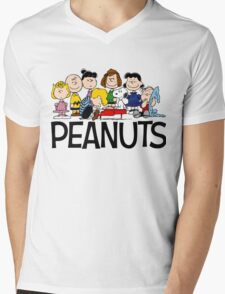 The Complete Peanuts Mens V-Neck T-Shirt