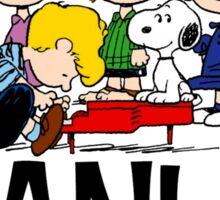 The Complete Peanuts Sticker