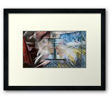 I Don't Like Where You Are Coming From!  Framed Print