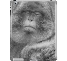 Had enough monkey iPad Case/Skin