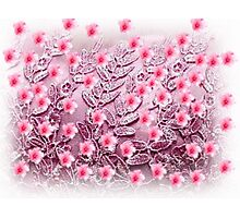 LOVE FLOWERS Photographic Print