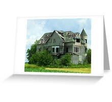 Haunted Prairie Greeting Card