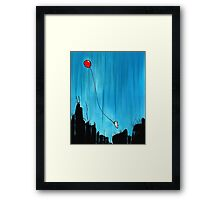 Balloon Adventure Framed Print