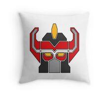 Transformers meets Megazord!  Throw Pillow