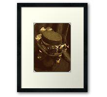 Steampunk Ladies Hat 1.0 Framed Print
