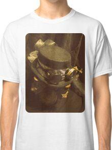 Steampunk Ladies Hat 1.0 Classic T-Shirt