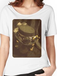 Steampunk Ladies Hat 1.0 Women's Relaxed Fit T-Shirt