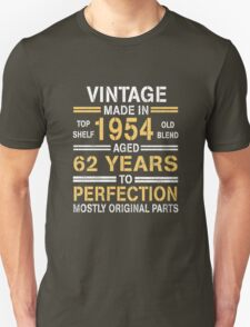VINTAGE -1954 Unisex T-Shirt