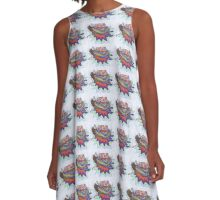 Knocked Down by Knowledge A-Line Dress