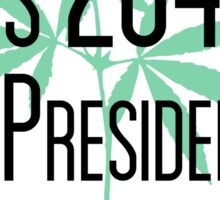Our President Is a Plant Sticker