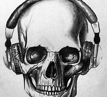 Skull by Brady  Minton