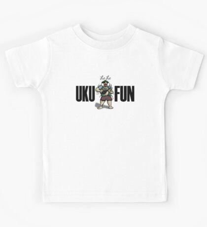 Ukulele Fun Kids Tee
