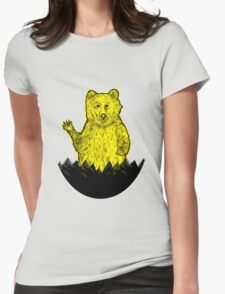 Hello Bear Womens Fitted T-Shirt