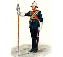 Royal Marines Drum Major Photographic Print