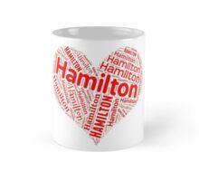 Hamilton - Red Heart Mug