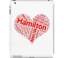 Hamilton - Red Heart iPad Case/Skin