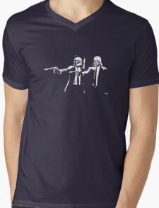 Star Fiction Mens V-Neck T-Shirt