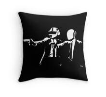 Daft Fiction Throw Pillow