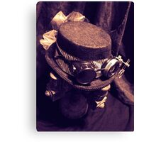 Steampunk Ladies Hat 1.1 Canvas Print
