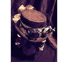 Steampunk Ladies Hat 1.1 Photographic Print
