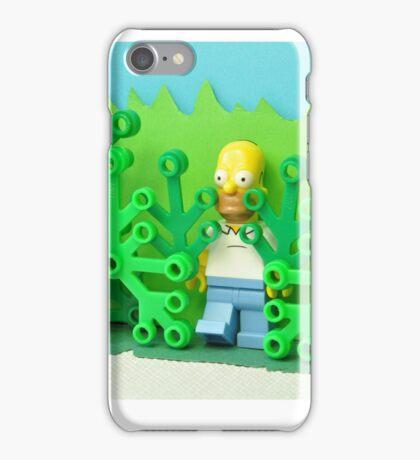 """Oh, not Flanders, anybody but Flanders…"" - © Homer Simpson iPhone Case/Skin"