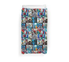 Coventry Cathedral Macro Images Duvet Cover