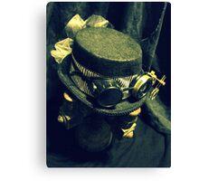 Steampunk Ladies Hat 1.2 Canvas Print