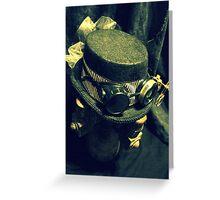 Steampunk Ladies Hat 1.2 Greeting Card