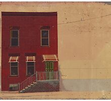 173 Sacramento Building Illustration by tcounihan