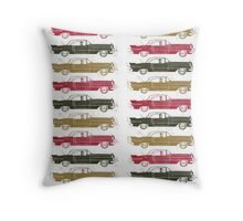 Cadillac Fleet Throw Pillow