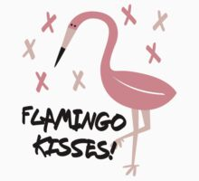 FLAMINGO KISSES! Kids Tee