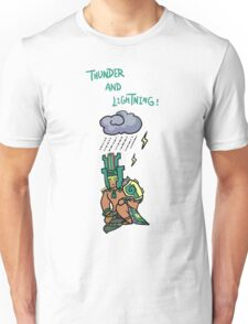 Smite - Thunder and Lightning! (Chibi) Unisex T-Shirt