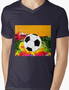 Kickoff 578 Mens V-Neck T-Shirt