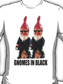Gnomes in Black T-Shirt