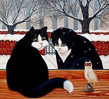 Prodigal Cat by vickymount