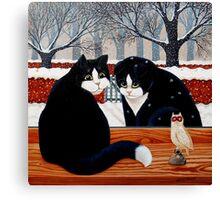Prodigal Cat Canvas Print