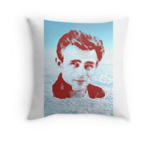 JAMES DEAN ON SKY Throw Pillow