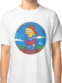 Colourful Cartoon Classic T-Shirt