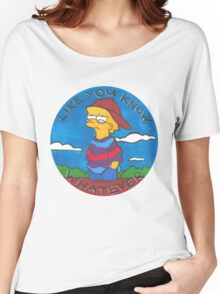 Colourful Cartoon Women's Relaxed Fit T-Shirt