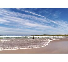 Islay: The Surfer Photographic Print
