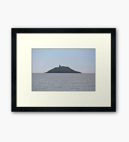 Ballycotton Bay lighthouse Framed Print